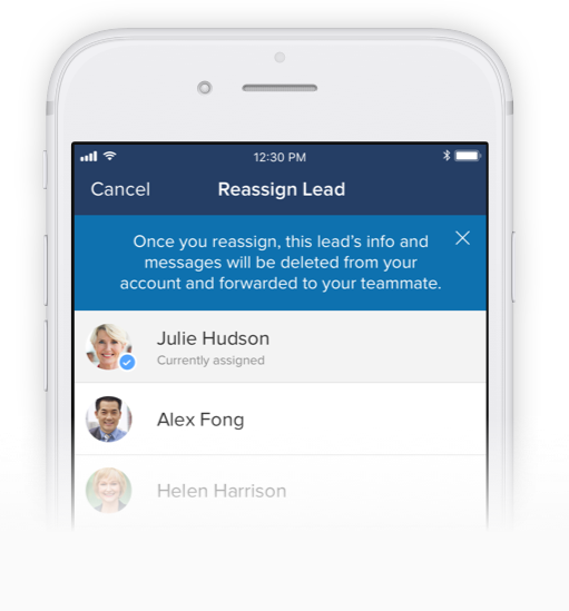 Real Estate Agent App - CRM & Lead Management